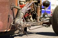 Rat Rod Exhaust Art