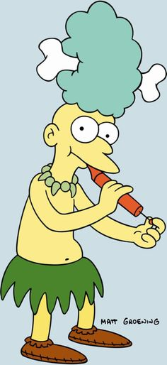 Springfield Characters: Sideshow Mel
