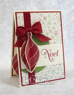 SUO Ornament Keepsakes by stampinandstuff - Cards and Paper Crafts at Splitcoaststampers