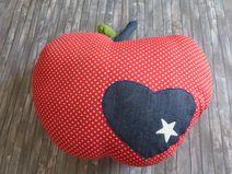 Kissen Apfel Beanie, Etsy, Vintage, Shopping, Fashion, Apple, Handmade, Cushion, Moda