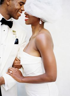 Shannon + Victor's  - A Black and White Wedding by Jonathan Canlas « Southern Weddings Magazine