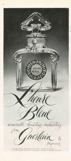 Guerlain L'heure Bleue Perfume Bottle (1959)