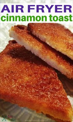 There really is a method to making cinnamon toast and my Air Fryer Perfect Cinnamon Toast recipe will show you the best way. Air Fryer Recipes Dessert, Air Fryer Oven Recipes, Air Fry Recipes, Baking Recipes, Ninja Recipes, Bread Recipes, Cinnamon Toast Recipe, Cooks Air Fryer, Air Fried Food