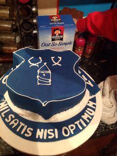 Everton Birthday Cakes Picture cakepinscom Cakes