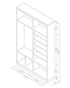 Vestiyer Dolabı Teknik Çizim My Home Design, House Design, Bedroom Cabinets, Technical Drawing, Closet Space, Bedroom Storage, Kitchen Layout, Mudroom, House Plans