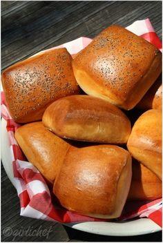 Homemade Hamburger Buns   All Roads Lead to the Kitchen Use vegan margarine to make this vegan