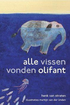 """바다로 간 코끼리   64 페이지      Zilveren Griffels 2010 (Silver Slate Pencils)        어느날 바닷가에 코끼리가 한마리가 나타나 둥둥 떠 다닌다. 바다 생물 어느 누구도 이 코끼리가 어디에서 왔는지, 아니 실제 코끼리가 맞는지 의심스럽다.   """"코끼리는 존재하지 않아,"""" 바다 생물이 말한다. """"무슨말이야, 코끼리는 존재해,"""" 다른 바다 생물이 대답한다. """"코끼리는 수영 못해. 코끼리는 날기만 할 줄 알아."""" 또 다른 바다 생물이 말한다.        작가는 흥미롭고 어느정도 반항적인 동물들 이야기를 신비한 바다를 배경으로 들려준다.   풍자적인 대사, 아크릴 일러스트레이션 그리고 아름다운 디자인, 놀라운 앵글, 별처럼 반짝이는 바다 생물들의 눈동자, 이 모든 요소들이 독자들의 눈과 마음을 즐겁게 한다."""