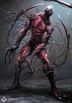 Here is a painting I did last year for the recently released Amazing Spider-Man 2 title. Carnage by Abe Taraky