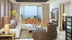 Abama Golf & Spa Resort - One Bedroom Suite Living Room at Abama Golf and Spa Resort
