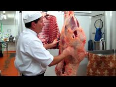 ▶ Part 1 - How to bone a hind quarter of beef demonstration by Master Butcher Michael Cross - YouTube