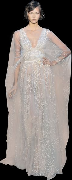 Elie Saad ~ Haute Couture ~ Fall 2012 ~ Look 7