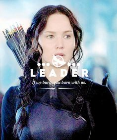 #Mockingjay I love how her arrows are color coded. Fire, Explosions and normal ones.