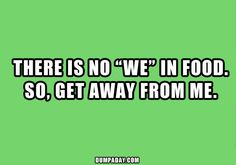 funny quotes about food - Google Search