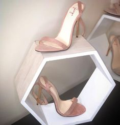 The Elodie Stiletto- Dusty Pink