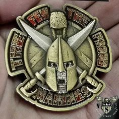 USMC Spartan The Few The Proud Marines Coin