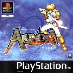 Adventures of Alundra (PS1, 1998) Un zelda-like, très sympa ! Un grand univers, des donjons super (quelques énigmes très difficiles!) Belle durée de jeux...