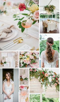 Ethereal Blush Colour Palette - The Bride's Tree Anna Campbell Bridal, Blush Color Palette, Ribbon Bouquet, Pink Tone, Pink Champagne, Wedding Trends, Ethereal, Blush Pink, Wedding Colors