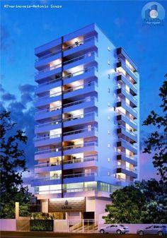 Apartamento para Venda, Praia Grande / SP, bairro Canto do Forte, 2 dormitórios, 2 suítes, 3 banheiros, 1 garagem