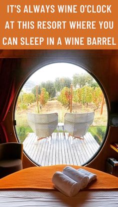 But seeing as I'm not that wasteful, maybe I'll just book at stay at this working vineyard in Portugal where you can sleep in a giant wine barrel. Black Bedroom Design, Home Room Design, Pretty Homecoming Dresses, Prom Dresses, Easy Yarn Crafts, Paper Crafts, Lace Bridal Robe, Pink Room, Neon Room