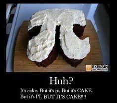 Nerdism 101 Pi Cake!!
