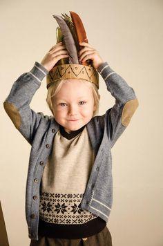Scandinavian traditional children's knitwear by MeMini for AW13