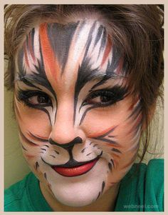 40 Beautiful Face painting Ideas for your inspiration. Read full article: http://webneel.com/face-painting-ideas   Follow us www.pinterest.com/webneel