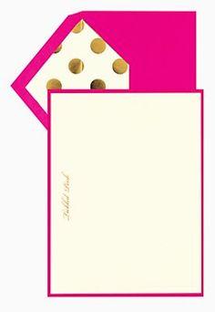 such cute polka dot stationary http://rstyle.me/n/jjz4er9te