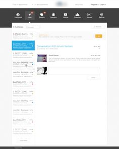Dribbble - Inbox-Page-HD.jpg by Agence Me