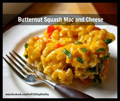 Butternut Squash Mac and Cheese ~ Interested in a personal coach? Let's connect! Send an email to ginny.toll@gmail.com and let me know a little about your goals and lifestyle! We'll work together to pick the right program for you! #GetFit2StayHealthy #21DayFix #Dinner #Lunch #SideDish  http://facebook.com/GetFit2StayHealthy
