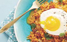 Breakfast Rebooted: Sweet Potato Hash with Eggs