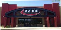 AZ Ice in Gilbert, AZ $7 open skate included skates.