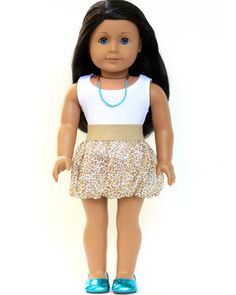 Charming Cheetah Outfit for 18 inch American Girl Dolls - Shop Liberty Jane!