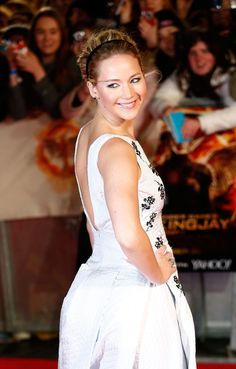 Jennifer Lawrence in 'The Hunger Games: Mockingjay Part 1' Premiere