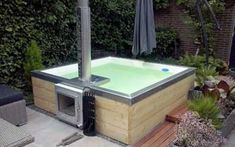 Head to the website above simply press the tab for more - round hot tub Outdoor Tub, Outdoor Baths, Rustic Garden Decor, Rustic Gardens, Ideas Cabaña, Round Hot Tub, Hot Tub Backyard, Stock Tank Pool, Water Features In The Garden
