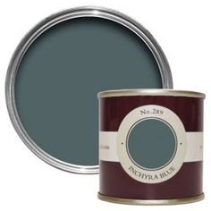 Farrow & Ball Breakfast Room Green Estate emulsion paint Tester pot - B&Q for all your home and garden supplies and advice on all the latest DIY trends Farrow Ball, Farrow And Ball Paint, Farrow And Ball Inchyra Blue, Farrow And Ball Living Room, Card Room Green Farrow And Ball, Farrow And Ball Kitchen, Stiffkey Blue, Hague Blue, Victorian