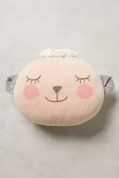 Anthropologie Lady Lamb Pillow - anthropologie.com #anthrofave