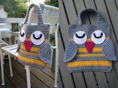 Inspiration~ADORABLE owl bag! Easy peasy to make too!!