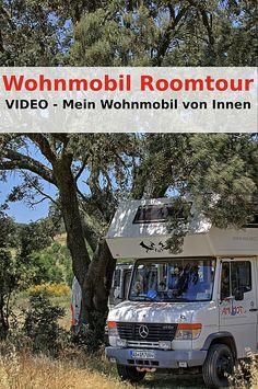 Leben im Wohnmobil - hier das Video über mein Zuhause auf Rädern. Mit der Roomtoure möchte ich dir zeigen, wie ich zur Zeit lebe und wie mein Wohnmobil von Innen aussieht. Mercedes Vario, Camper Caravan, Bus Conversion, Trucks, Camping Survival, Caravans, Campervan, Van Life, Motorhome