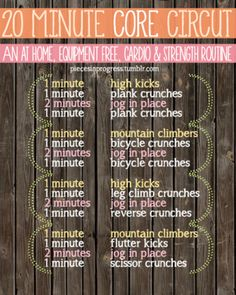 Everything about this plan fits together to make the most of your time and energy, and it's color coded! The higher intensity cardio (...