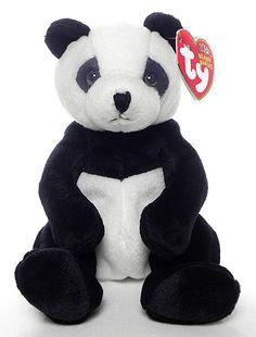 Mandy - Giant Panda Bear - Ty Beanie Babies