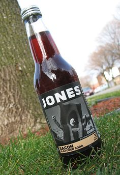 Jones Soda - Bacon flavored soda.