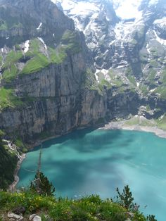 Kandersteg, Switzerland Like Heaven! Water clean enough to drink right out of lake