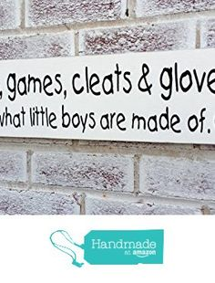 Baby Nursery Décor Sports Theme Baseball Art That S What Little Boys Are Made