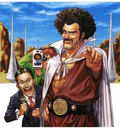 And our Champ, Mister Satan, will fight the evil monster! - Album on Imgur