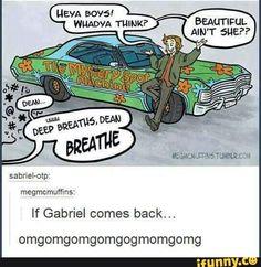 What if Gabe's the reason for the Scooby Do crossover? OMGOMGOMGQWEDUEHDHDJXKDJSHXJXJCJJXKD