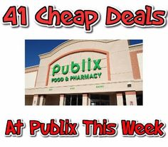 How To Get 41 Cheap Deals at Target This Week - http://couponsdowork.com/publix-coupon-matchups/publix-deals-cheap420421ad/