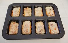 Mini Meatloaf Madness #Healthy #Recipes #Dinner