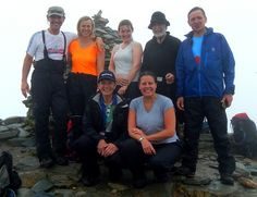 Jane and Paul's #Walking group on Coniston Horseshoe, you could also join us!