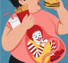 GetJoys - 娛樂分享區 - 荒謬的人生百態!29幅能令你反思生活的諷刺插畫!