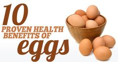 "FARM PASTURED EGGS: Eggs are among the few foods that I would classify as ""superfoods."" They are loaded with nutrients, some of which are rare in the modern diet. Here are 10 health benefits of eggs that have been confirmed in human studies. Health Benefits Of Eggs, Lemon Benefits, Benefits Of Coconut Oil, Tomato Nutrition, Healthy Oils, Stop Eating, Eating Clean, Health Problems, Superfoods"